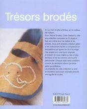 Tresors Brodes - 4ème de couverture - Format classique