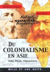 Du Colonialisme En Asie - Intérieur - Format classique