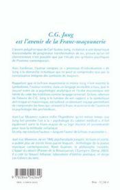 Jung Est L'Avenir - 4ème de couverture - Format classique