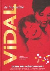 Vidal De La Famille 2002 ; Guides Des Medicaments ; 7e Edition - Intérieur - Format classique
