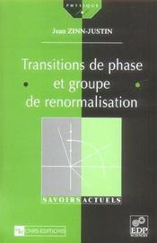 Transitions de phase et groupe de renormalisation - Intérieur - Format classique