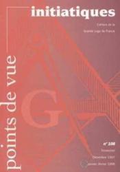 Points De Vue Initiatiques N°108 - Couverture - Format classique