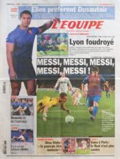 Equipe (L') N°21058 du 08/03/2012 - Couverture - Format classique