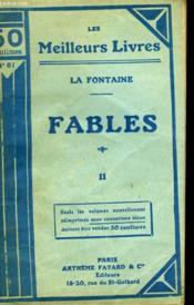 Fables. Tome 2. Collection : Les Meilleurs Livres N° 81. - Couverture - Format classique
