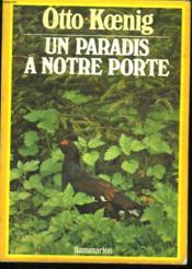 Un Paradis A Notre Porte. - Couverture - Format classique