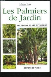 Les Palmiers De Jardin - Couverture - Format classique