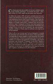 La Rue Et Le Foyer Cahier N 144 - 4ème de couverture - Format classique