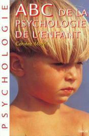 Abc De La Psychologie De L'Enfant - Intérieur - Format classique