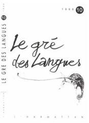 Gre Des Langues 10 - Couverture - Format classique