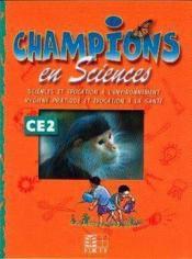 Champions En Sciences Ce2 (Cameroun/Panaf) - Couverture - Format classique