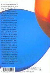 Salvador ; la montagne, l'enfant et la mangue - 4ème de couverture - Format classique