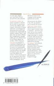 L'Ecole En France ; Crise, Pratiques, Perspectives - 4ème de couverture - Format classique