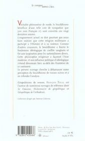 Geopolitique Du Bouddhisme - 4ème de couverture - Format classique