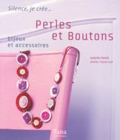 Perles Et Boutons Bijoux Et Accessoires - Couverture - Format classique