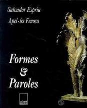 Formes et paroles - Couverture - Format classique
