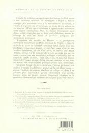 Poussiere o poussiere ; la cite-etat sama du pays dogon - 4ème de couverture - Format classique
