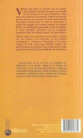 Chroniques d'un guerrier t.3 ; la prophétie de SaharAma - 4ème de couverture - Format classique