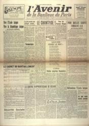 Avenir De La Banlieue De Paris (L') N°114 du 10/06/1948 - Couverture - Format classique