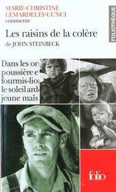 Les Raisins De La Colere De John Steinbeck (Essai Et Dossier) - Intérieur - Format classique
