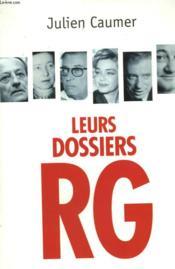 Leurs Dossiers Rg. - Couverture - Format classique