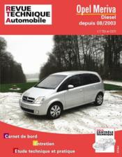 Rta 681.1 Opel Meriva Diesel - Couverture - Format classique