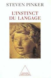 L'Instinct Du Langage - Intérieur - Format classique