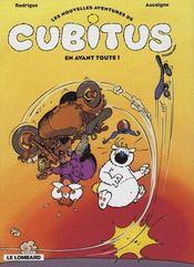 Les nouvelles aventures de Cubitus t.1 ; en avant toute ! - Intérieur - Format classique