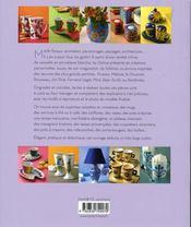 Peinture sur porcelaine - 4ème de couverture - Format classique