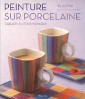 Peinture sur porcelaine - Couverture - Format classique