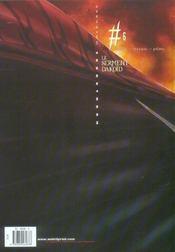 Kookaburra universe t.6 ; le serment dakoïd - 4ème de couverture - Format classique