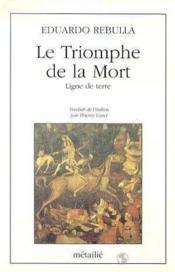 Le Triomphe De La Mort - Couverture - Format classique