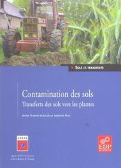 Contamination des sols plantes - Intérieur - Format classique
