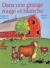 Grange Rouge Et Blanche - Intérieur - Format classique
