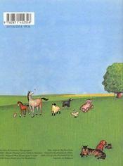 Dans Une Grange Rouge Et Blanche - 4ème de couverture - Format classique