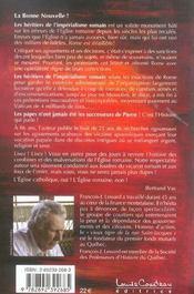 Heritiers De L'Imperialisme Romain - 4ème de couverture - Format classique