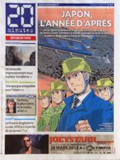 20 Minutes N°2219 du 09/03/2012 - Couverture - Format classique
