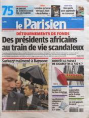 Parisien 75 (Le) N°20985 du 02/03/2012 - Couverture - Format classique