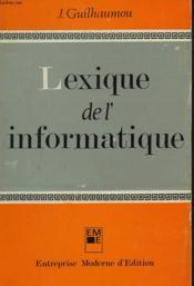 Lexique De L'Informatique - Couverture - Format classique