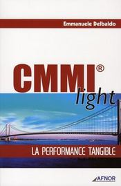 Vente livre :  CMMI light ; la performance tangible  - Delbaldo Emmanu