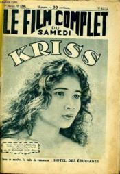 Le Film Complet Du Samedi N° 1268 - 11e Annee - Kriss - Couverture - Format classique