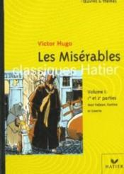Les Misérables t.1 ; Jean Valjean, Fantine et Cosette - Couverture - Format classique
