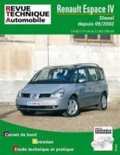 Rta 682.1 Renault Espace Dci - Couverture - Format classique