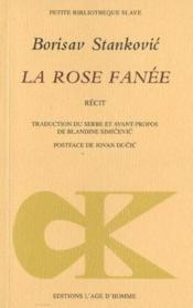 Rose Fanee (La) - Couverture - Format classique