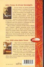 Jules Verne Le Reveur Mis A Nu - 4ème de couverture - Format classique