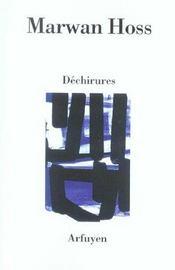 Dechirures - Intérieur - Format classique