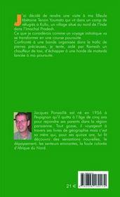 Tashi delek - 4ème de couverture - Format classique