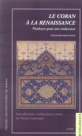 Coran a la renaissance - Intérieur - Format classique
