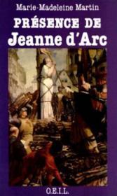 Presence De Jeanne D'Arc - Couverture - Format classique
