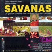 Savanas ; la gestion durable des savanes périamazoniennes - Couverture - Format classique