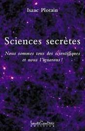 Sciences Secretes Tome 1 - Couverture - Format classique